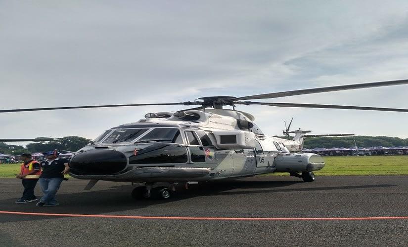 Angkasa Expo dan Halim AFB Open Day Memamerkan Helikopter VIP