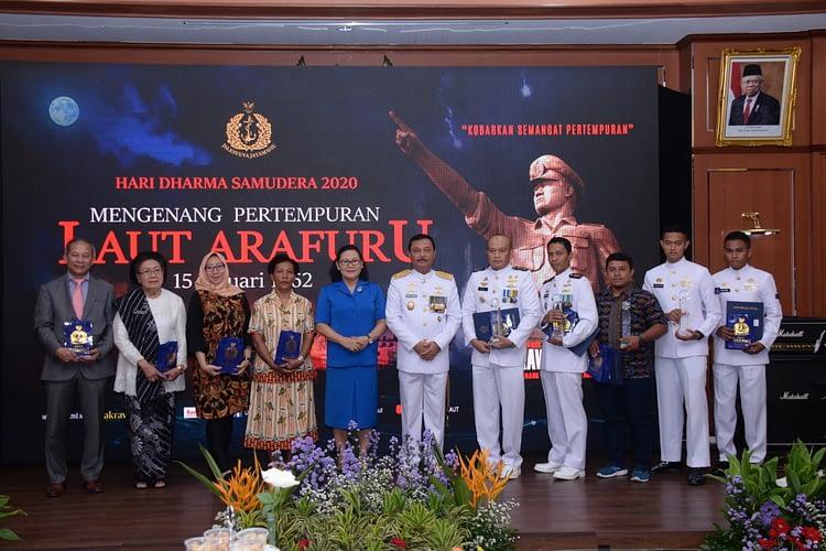 Marinir Juarai Lomba Video Hari Dharma Samudera 2020