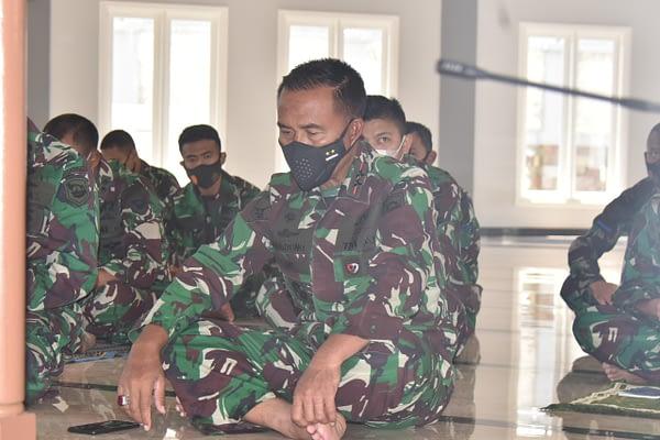 Dipimpin Langsung Dankormar, Korps Marinir Doa Bersama Untuk Keselamatan KRI Nanggala 402