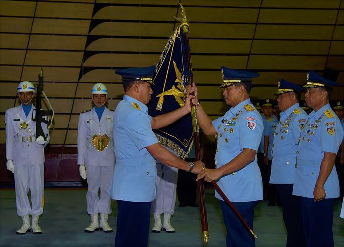 Pimpin Sertijab Empat Pejabat TNI AU, Kasau: Berikan yang Terbaik bagi TNI AU, Bangsa, dan Negara