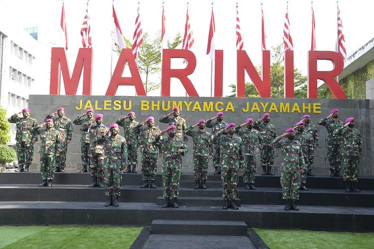 Dankormar Secara Resmi Buka Rakornis Intelijen dan Potensi Maritim Korps Marinir Tahun 2021