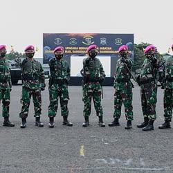 Komandan Pasmar 1 Pimpin Sertijab Empat Jabatan Komandan Kolak Pasmar 1