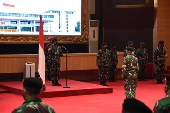 Panglima TNI Terima Laporan Korps Kenaikan Pangkat Puluhan Pati TNI