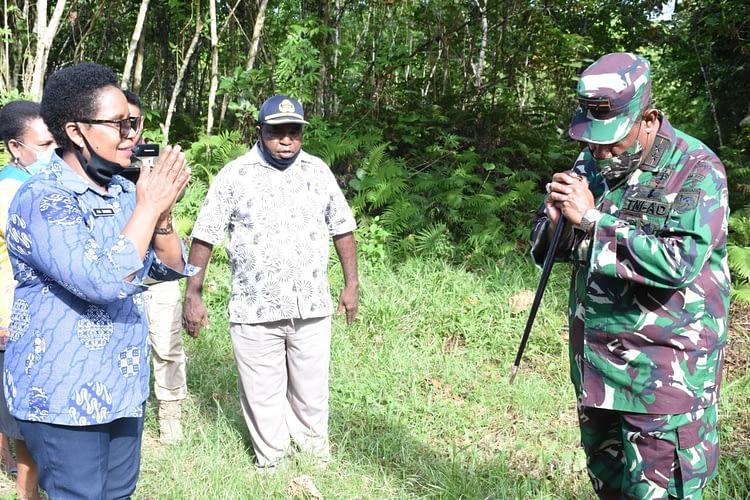 Masyarakat Setuju Serahkan 10 Hektar Tanah Untuk Kodam XVIII/Kasuari
