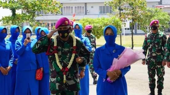 Mayor Marinir Mohammad Abdilah Resmi Jadi Komandan Batalyon Intai Amfibi 1 Marinir