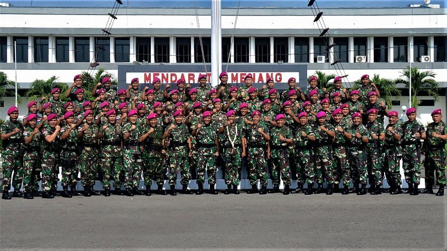 Komandan Pasmar 2 Sambut Satuan Tugas Marinir Pulau Terluar XXI