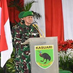 Pangdam XVIII/Kasuari Pimpin Serah Terima Jabatan Pejabat Kodam XVIII/Kasuari
