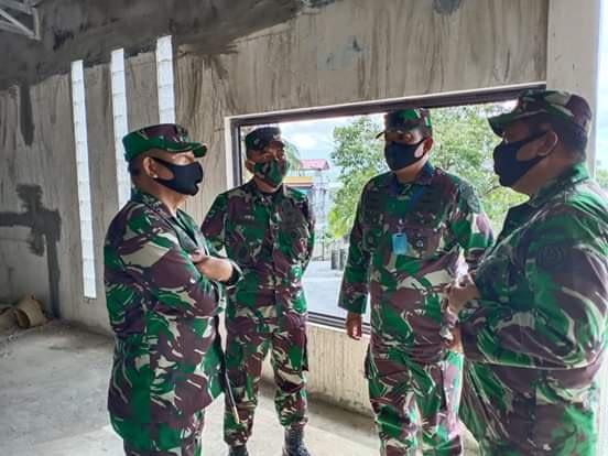 Pangkogabwilhan I Tinjau Kesiapan Makogabwilhan I di Tanjung Pinang