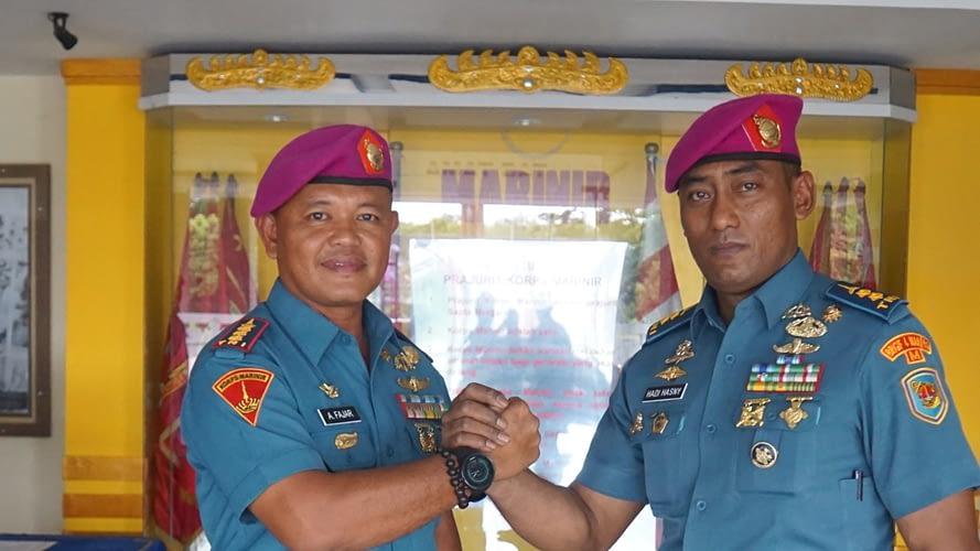 Letkol Mar Achmad Hadi Al Hasny Jabat Paslog Brigif 4 Marinir/BS