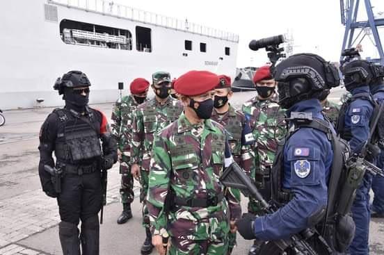 Dankoopssus TNI : TNI Tidak Akan Membiarkan Aksi Terorisme Mengancam Kehidupan Masyarakat