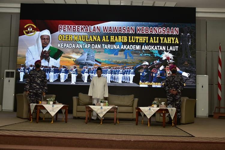 Dankormar Dampingi Habib Lutfhi Beri Pembekalan kepada Calon Pemimpin Masa Depan