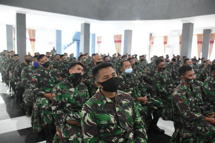 Pangdam XVIII/Kasuari: Kehadiran Satuan BKO Teritorial Harus Mampu Atasi Kesulitan Rakyat dan Jangan Sekali-kali Menyakiti Rakyat