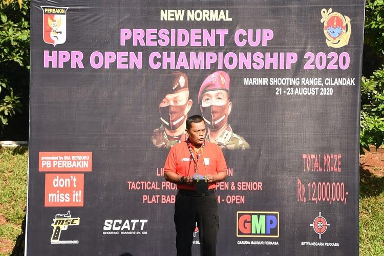 Dankormar Dampingi Kasum Tni Buka Lomba New Normal President Cup Hpr Open Championship 2020
