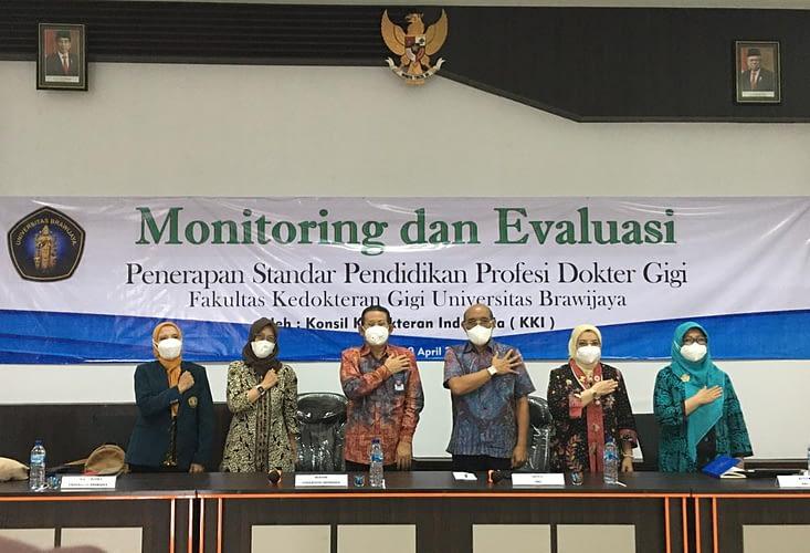 KKI Lakukan Monev di FKG Unibraw Malang