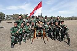 TNI AD Kembali Merajai Sebagai Juara Umum Lomba Tembak AASAM Tahun 2019 di Australia