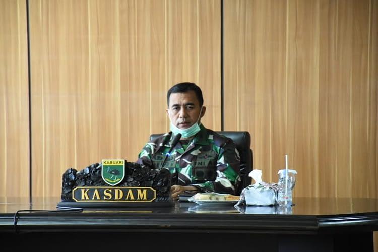 Brigjen TNI Ferry Zein Pimpin Paparan RGB Penerimaan dan Pengembalian 'Satuan BKO Kodim/Koramil Persiapan' di jajaran Kodam XVIII/Kasuari