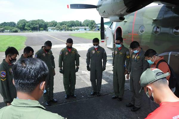 Tekan Curah Hujan Jabodetabek, TNI AU dan BPPT Kembali Lakukan Modifikasi Cuaca