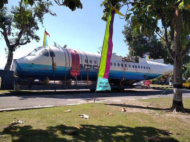 Fajar Pagi Sambut Kedatangan Pesawat N-250 Sang Gatot Kaca
