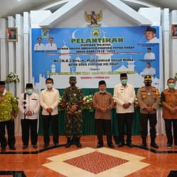 Pangdam XVIII/Kasuari Hadiri Acara Pelantikan Pimpinan Wilayah Dewan Masjid Indonesia Provinsi Papua Barat