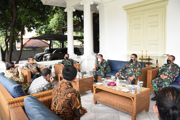 Dankormar Kedatangan Pengurus Persatuan Nelayan Tradisional Indonesia