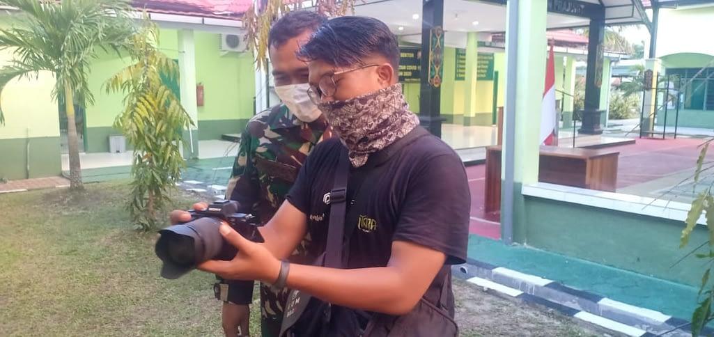 Dokumentasikan TMMD, Kodim 1015 Sampit Buat Film Pendek