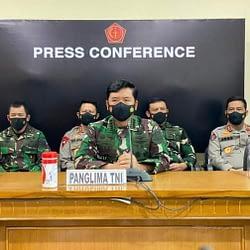 Panglima TNI : 53 Personel Awak KRI Nanggala-402 Gugur