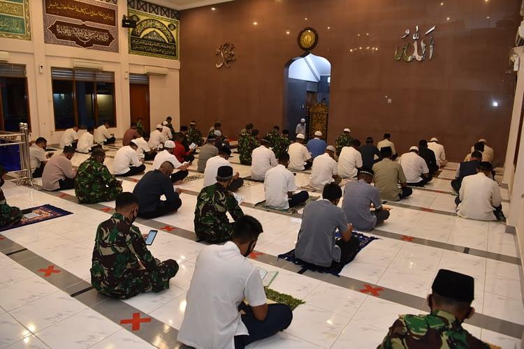 Tingkatkan Imtak Serta untuk Keselamatan,  Lanud Halim Gelar Khataman Al-Qur'an dan Doa Bersama