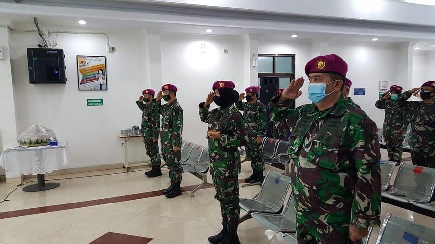 Danmenart 2 Marinir Pimpin Upacara Peringatan Hut Ke-75 Kemerdekaan Republik Indonesia