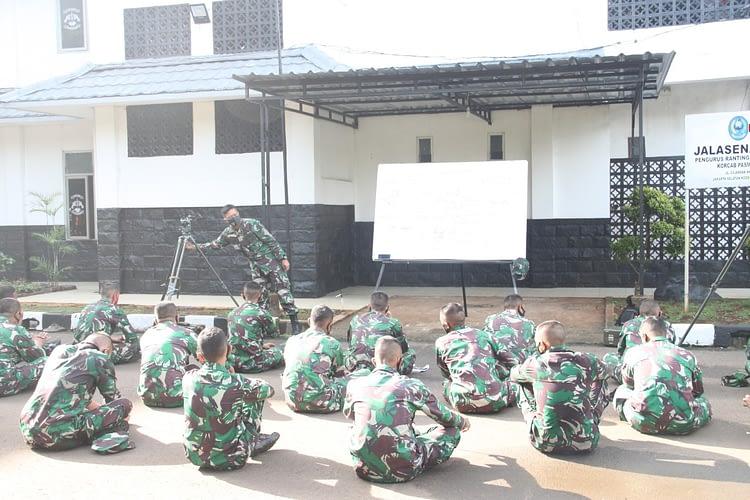 Jaga Imunitas Tubuh, Prajurit Batalyon Ranratfib 1 Marinir Laksanakan Lari Ketahanan