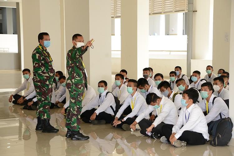 62 Caba PK TNI AL Khusus Tenaga Kesehatan Dikirim Ke Panitia Pusat