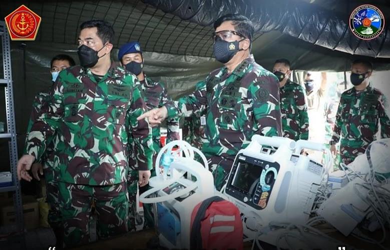 Panglima TNI Sidak Rumkitlap Covid-19 RSAU dr. Esnawan Antariksa