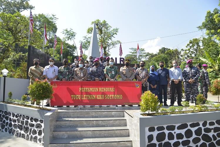 """Dankormar: """"Tugu Letnan KKO Soetomo menjadi Sumber Inspirasi bagi Generasi Penerus Bangsa"""""""