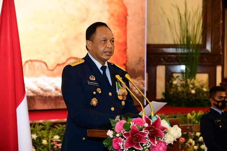 Kasau Pimpin Upacara Wisuda Purnawira Pati TNI AU