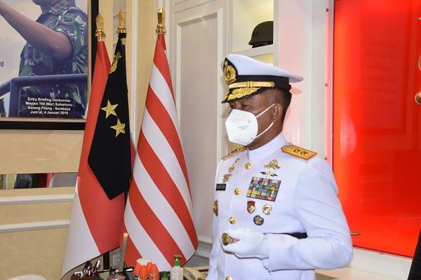 Dankormar Hadiri Upacara Pembukaan Dikreg Seskoal Angkatan Ke-59 TA.2021 Secara Virtual