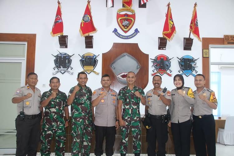 Danyonmarhanlan III Jakarta Terima Kunjungan Kerja Kapolsek Kelapa Gading Jakarta Utara