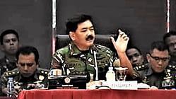 Panglima TNI Pimpin Tactical Floor Game Pengamanan Pemilu 2019