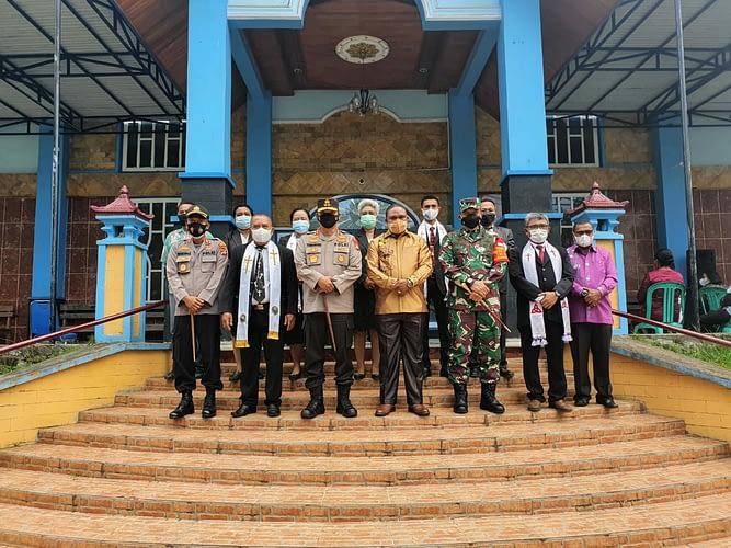 Pangdam XVIII/Kasuari, Kapolda Papua Barat dan Bupati Manokwari Pastikan Ibadah Paskah di Manokwari Berjalan Aman