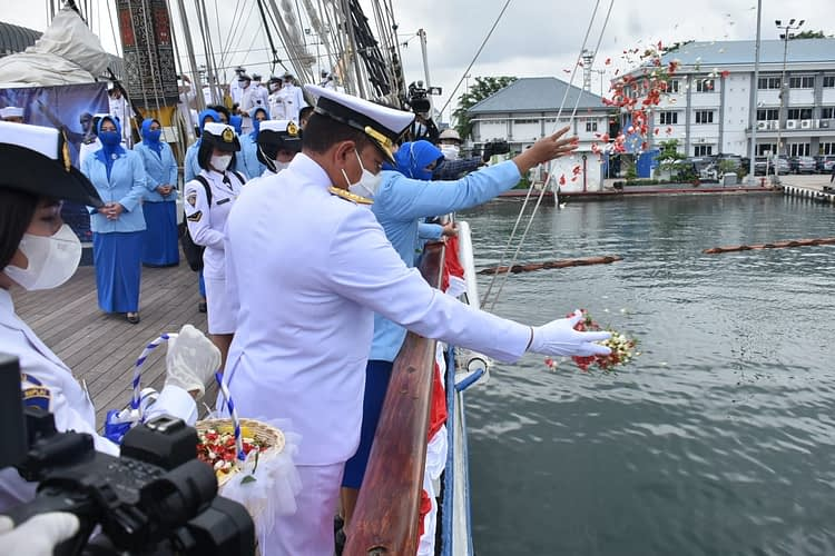Dankormar Beserta Ketua Umum PG Kormar Hadiri Peringatan Hari Dharma Samudera