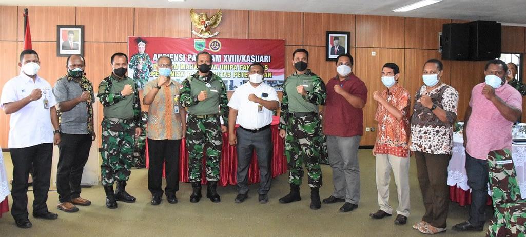 Pangdam XVIII/Kasuari: Bangun Tanah Papua Barat Ini Menuju Indonesia Maju