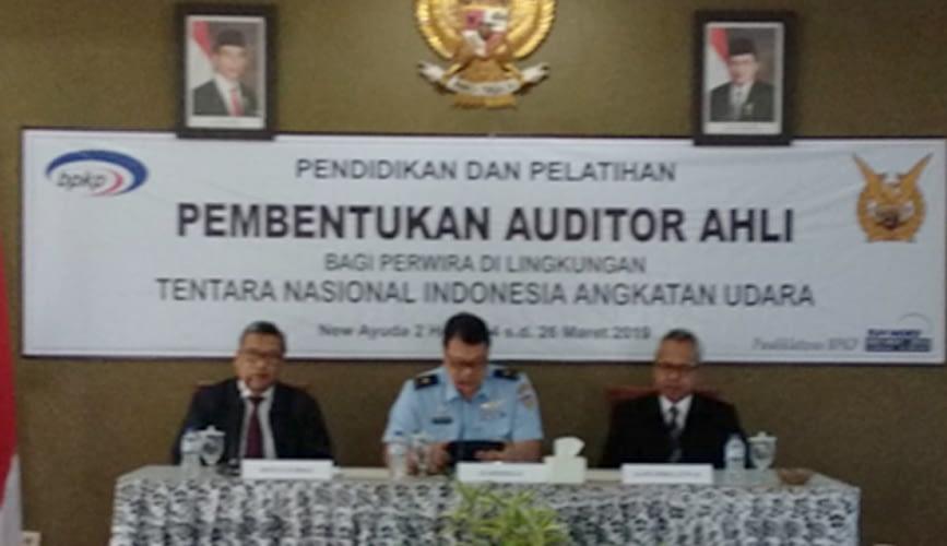Jawab Tantangan Tugas Pengawasan, 25 Pamen TNI AU Ikuti Diklat Auditor Ahli