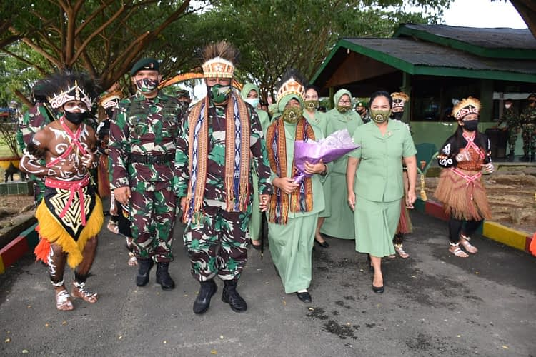 Pangdam XVIII/Kasuari : Terima Kasih Sudah Membantu TNI AD