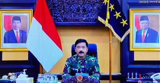 Panglima TNI Berikan Pengarahan Kepada Pati dan Pamen Di Lingkungan Mahkamah Agung