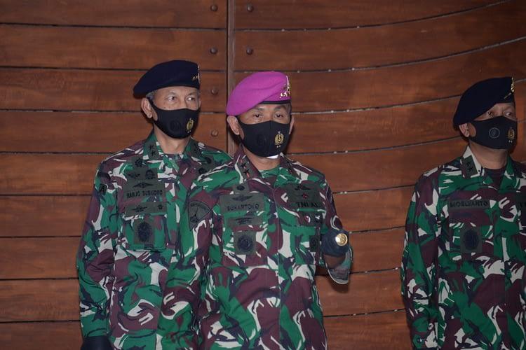 Dankormar Hadiri Sertijab, Likuidasi, Peresmian Dan Pelantikan Dilingkungan TNI AL