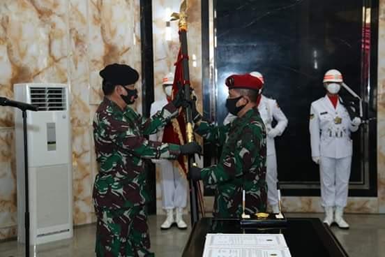 Panglima TNI Terima Penyerahan Jabatan Dankoopssus serta Pimpin Sertijab Kapuskes dan Kasetum