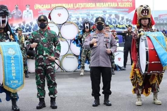 Panglima TNI : Latsitarda Nusantara Merupakan Momentum Bangun Sinergi TNI-Polri Dengan Komponen Bangsa