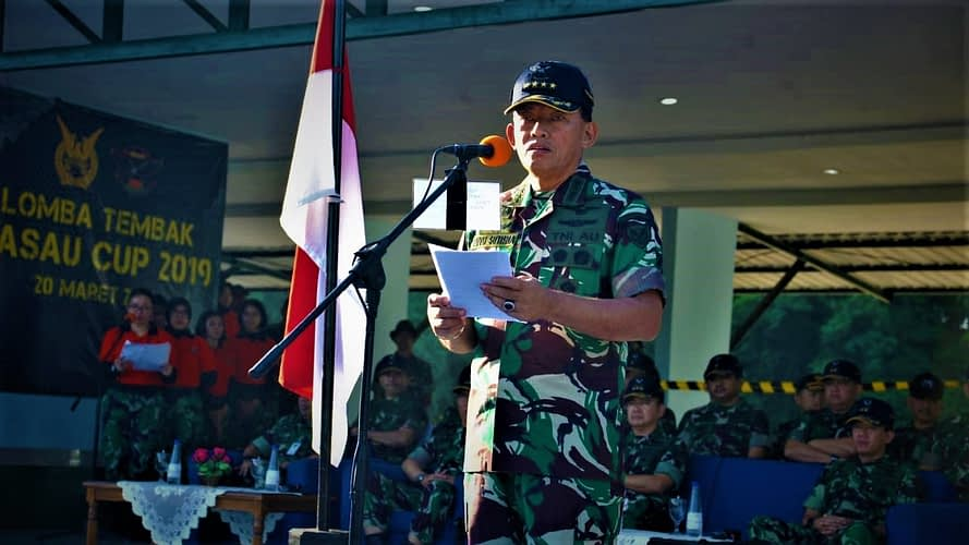 Bina Kemampuan Tembak Prajurit TNI AU, Kasau Buka Lomba Tembak Kasau Cup 2019