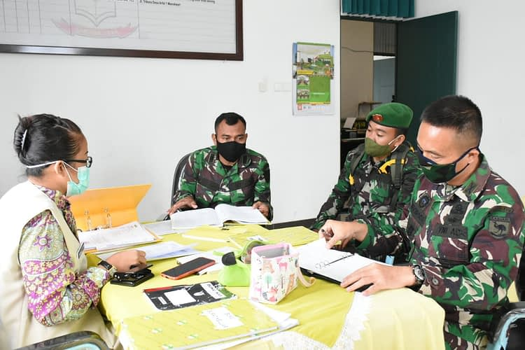 Jelang Pergantian Pimpinan, Administrasi Pengurus Persit KCK PD XVIII/Kasuari Diverifikasi