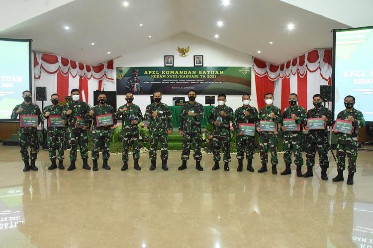 Mayjen TNI I Nyoman Cantiasa, S.E., M.Tr.(Han): Wujudkan Kodam XVIII/Kasuari Menjadi Kodam Unggulan