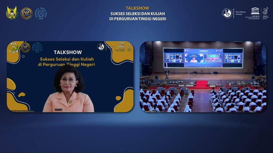 SMA Pradita Dirgantara Selenggarakan Talk Show Sukses Seleksi dan Kuliah di Perguruan Tinggi Negeri bersama Para Rektor