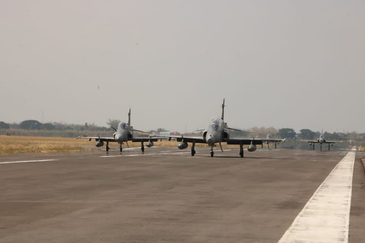61 Misi Operasi Udara Diagendakan Pada Hari Kedua Latihan MOT dan GFAC